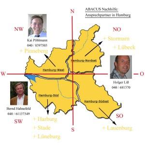 Übersicht zur ABACUS Nachhilfe in Hamburg