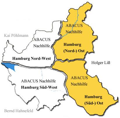 ABACUS Nachhilfe in Hamburg Nord und Süd - Ost