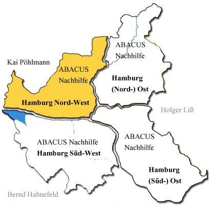 Abacus Nachhilfe Hamburg Nord West Postleitzahlen